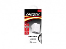 Energizer Max Wall Charger 1USB+MicroUSB Cable White 1A ( ACA1AEUCLI3 )