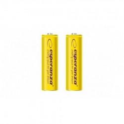 Esperanza EZA103Y punjive baterije AA 2000mah 2 kom zute
