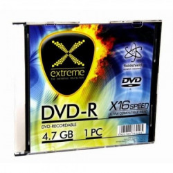 Extreme 1168 DVD-R 4,7GB X16 SLIM CASE 1 komad