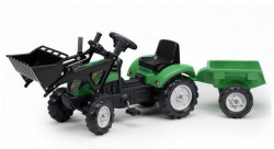 Falk Toys Traktor na pedale sa prikolicom i kašikom 2052cm