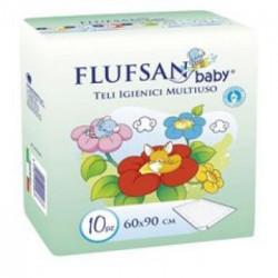Flufsan baby nepromočivi podmetač 60 x 90 cm 10 komada ( 0310011 )