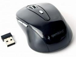 Gembird bezicni mis 2,4GHz opticki USB 800-1600Dpi black 95mm MUSW-6B-01