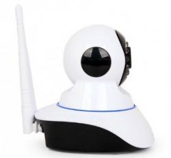 Gembird HD zicna+bezicna video nadzor IP kamera, night/day LED, SD,360, mik.+zv.(1999 ICAM-WRHD-01 *