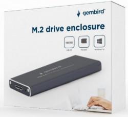 Gembird kućiiste za M.2 SSD memoriju USB3.0 black ( EE2280-U3C-01 )