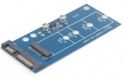 """Gembird M.2 (NGFF) to micro SATA 1.8"""" SSD adapter card EE18-M2S3PCB-01"""
