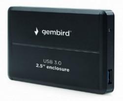 "Gembird USB 3.0 externo kuciste za 2.5"" SATA hard diskove, aluminium, crni EE2-U3S-2"