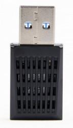 Gembird USB wireless adapter AC1300, dual band, 2dBi, 400Mbps-2,4GHz, 867Mbps-5GHz WNP-UA1300-01