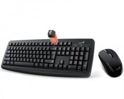 Genius Smart KM-8100 Wireless USB YU crna tastatura + miš