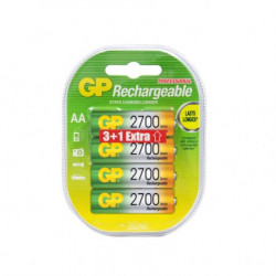 GP punjive baterije AA 2700 mAh 3+1 ( 270AAHC-U3+1 )