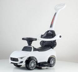 Guralica Auto model 460 sa zvučnim i svetlosnim efektima - Bela