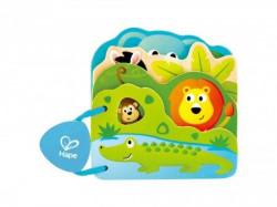 Hape drvena igračka bebi knjiga životinje ( E0047 )
