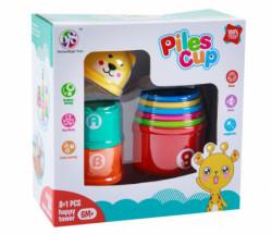 Hk Mini igračka kupice za slaganje ( A015935 )