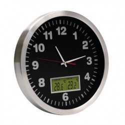 Home Analogni zidni sat sa termometrom 30cm ( AWC30T )