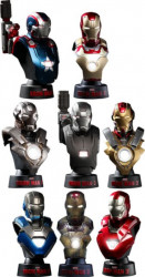 Hot Toys Iron Man 3: Deluxe 1:6 scale Collectible Bust Set