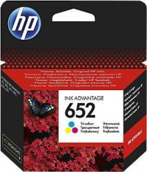 HP 652 Tri-color Ink Cartridge F6V24AE ( Z49652C )
