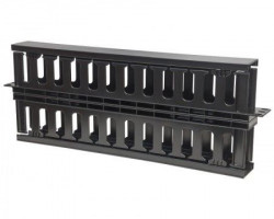 "Intelinet Cable Management Panel 19"" 1U with cover crni"