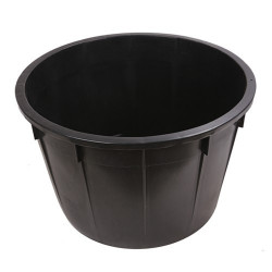 Kaca okrugla 225 l - crna