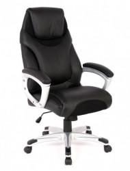 Kancelarijska fotelja HLC-1286 od eko kože - Crna