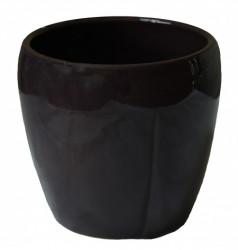 Kerbek saksija tarifa 18cm glazura kupina ( KE G58/180/011 )