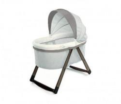Kids II korpa za bebu foldaway rocking wood bassinet - carrington 11162 ( SKU11162 )