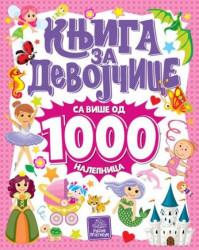 Knjiga za devojčice sa više od 1000 nalepnica ( 873 )