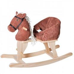 Knorrtoys konj na ljuljanje za sedenje drveni ( 40491 )