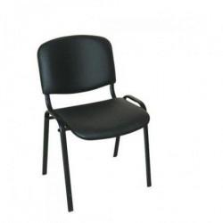 Konferencijska stolica Iso black V14 eko koža