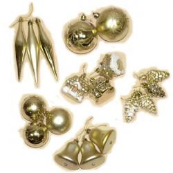 Kuglice 4 vrste - zlatne ( 51-742000 )