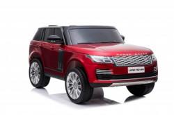 Land Rover Dvosed 4x4 Licencirani sa kožnim sedištima i mekim gumama - Crveni