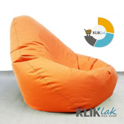Lazy BAG - Big Bean Bag Orange - Šoteks ( 270x130 )