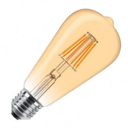 LED filament sijalica dimabilna toplo bela 9W ( LS-ST64FDA-WW-E27/9 )