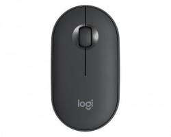 Logitech Pebble M350 Wireless Graphite miš