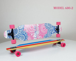 Longboard Skejt nosivost do 100kg - Model 680-2