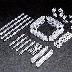 Max Factory Figma Di:stage Expansion Set 01 Layer Unit Clear version