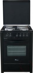 MBS E 601 C elektro štednjak sa ventilatorom - crni