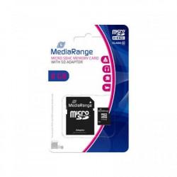 Mediarange 8GB Micro SDHC class 10 + adapter MR957 ( MCMR957/Z )