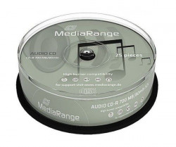 MediaRange CD-R Audio CD-R 52x 80min CAKE 25 MR223 ( 77MRA/Z )