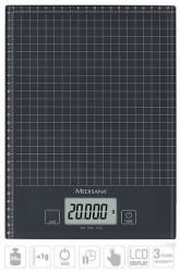 Medisana KS240 Digitalna XL staklena kuhinjska vaga