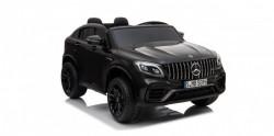 Mercedes Licencirani Dvosed 4x4 model 311/1 sa kožnim sedištima i mekim gumama - Crni