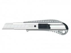 Messer, skalpel, metalni, 18mm, siva ( 491426 )