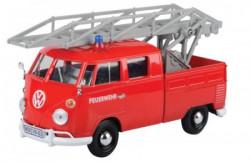 Metalni auto 1:24 Volkswagen fire truck W/AERIAL LADDER ( 25/79584 )