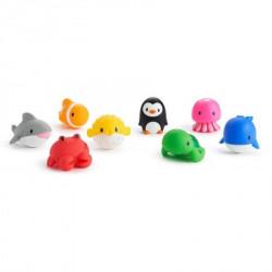 Munchkin igračka za kupanje okean životinje 8kom ( A041038 )