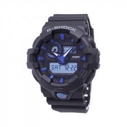 Muški G Shock Casio Multifunkcionalni Mat Crni Plavi Sportski Analogno Digitalni Ručni Sat