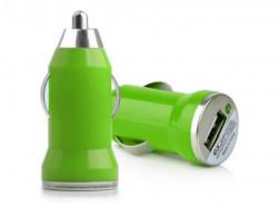N/A Auto punjač USB 1A E-11 zeleni ( 00-005 )