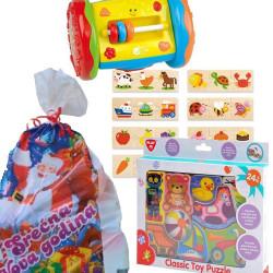 Novogodišnji paketić S za najmlađe - 3 igračke ( 012NG941 )