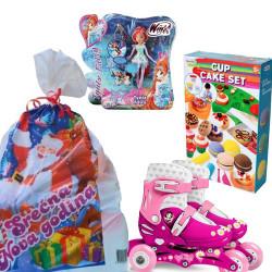 Novogodišnji paketić XL za devojčice 3-6 godina - 3 igračke ( 012NG952 )