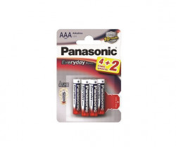 Panasonic LR03EPS/6BP AAA 6 kom alkaline Everyday baterije ( 02390734 )