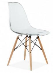 Plastična trpezarijska stolica CHARLIE - Providna