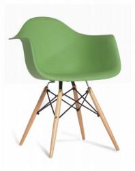 Plastična trpezarijska stolica SEM - Zelena