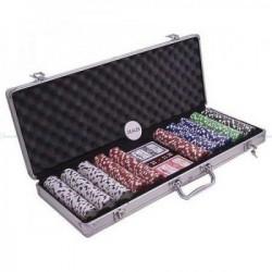 Poker set 500 kom sa 5 različitih boja ( POK-500J )